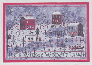 Winter at Sugar Hill - (Cross Stitch)
