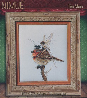 Fee au Rouge-Gorge (The Robin's Fairy) - (Cross Stitch)