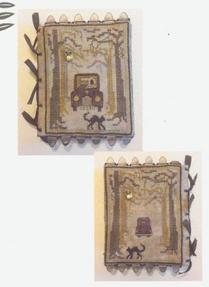 Old Dark Road Book Kit - (Cross Stitch)