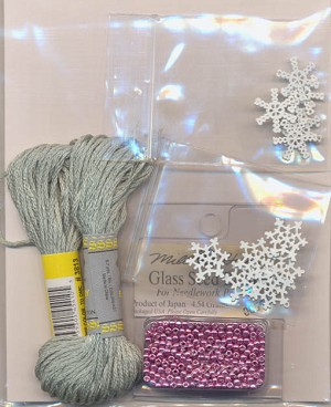 The Spirit of Christmas Embellishment Pack - (Cross Stitch)