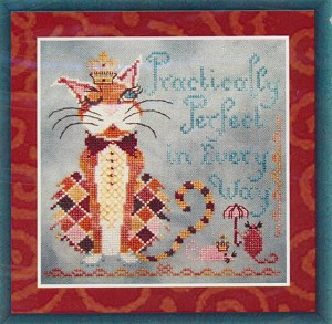 Practically Perfect - (Cross Stitch)