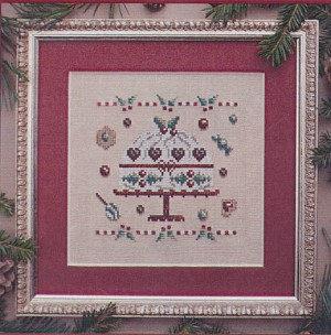 Christmas Cake - (Cross Stitch)