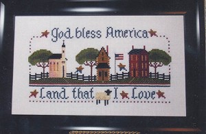 Land That I Love - (Cross Stitch)
