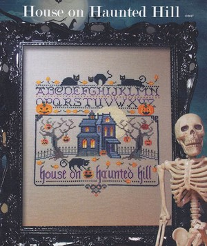 House on Haunted Hill - (Cross Stitch)