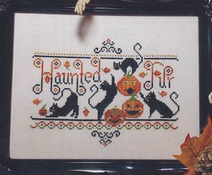 Haunted Fur - (Cross Stitch)