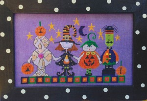 Halloween Parade - (Cross Stitch)