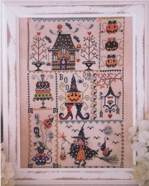 Halloween in Quilt - (Cross Stitch)