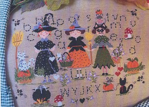 Halloween Party - (Cross Stitch)