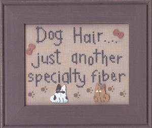 Dog Hair - (Cross Stitch)