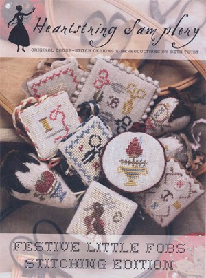 Festive Little Fobs Stitching Edition - (Cross Stitch)