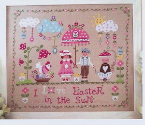 Easter in the Sun - (Cross Stitch)