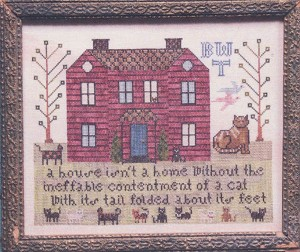 The Cat Sampler - (Cross Stitch)