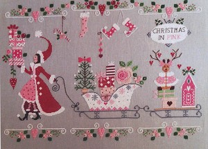 Natale in Rosa (Christmas in Pink) - (Cross Stitch)
