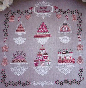 Sweet Christmas - (Cross Stitch)