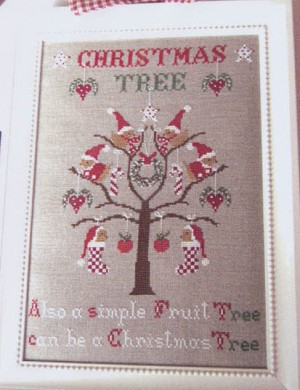Christmas Tree - (Cross Stitch)