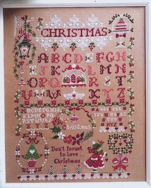 Christmas Sampler - (Cross Stitch)