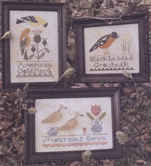 The Bird Collection Part 1 - (Cross Stitch)