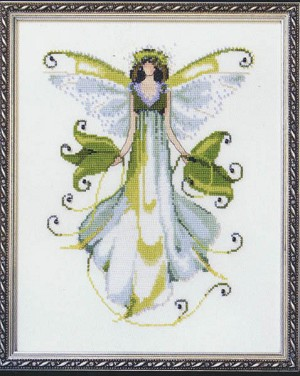Morning Glory Pixie Couture Collection - (Cross Stitch)