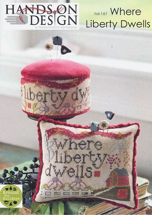 Where liberty Dwells - (Cross Stitch)