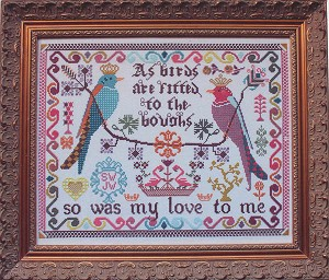 Birds to the Boughs - (Cross Stitch)