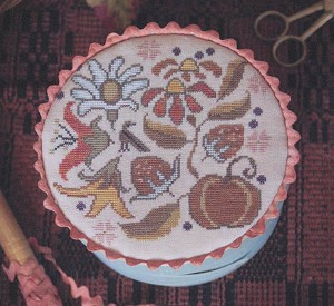 Autumn Posy - (Cross Stitch)