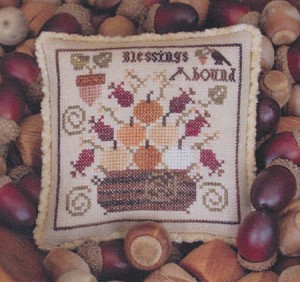 Blessings Abound - (Cross Stitch)