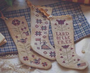 Betsy's Stockings - (Cross Stitch)