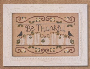 Be Thankful - (Cross Stitch)