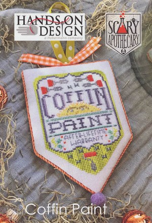 Coffin Paint Sacary Apothecary - (Cross Stitch)