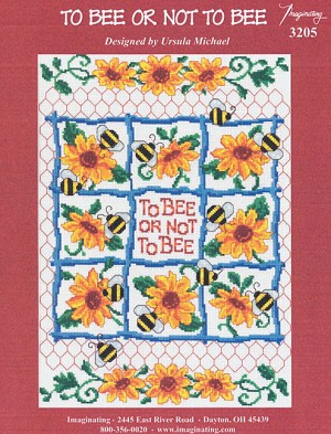 To Bee or Not to Bee - (Cross Stitch)