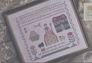 Needleworker's Sampler Proverbs 31:13