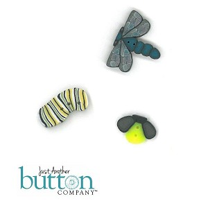 Bats, Bugs, Toads & Spiders Button Pack