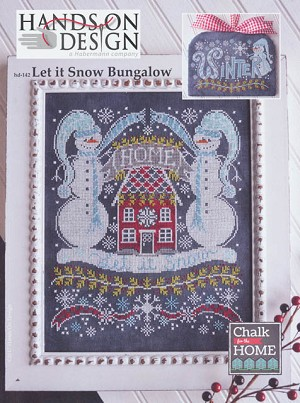 Let it Snow Bungalow Chalk for the Home