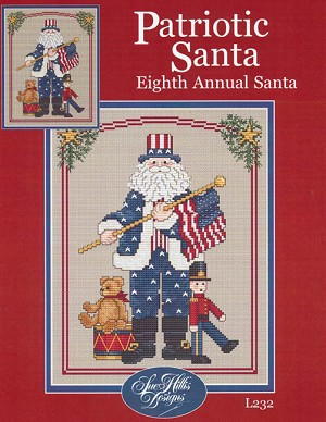 Patriotic Santa Eighth Annual Santa
