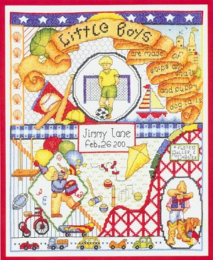 Little Boys Are Made Of