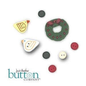 Birdie Holiday Button Pack Lizzie Kate