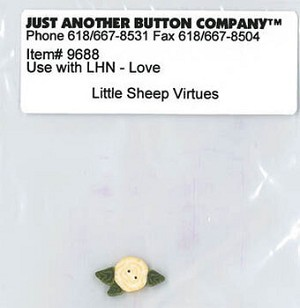 Little Sheep Virtues LOVE  Button pack