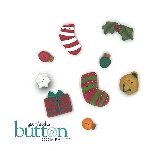 Be-Attitudes December Be Merry Button Pack