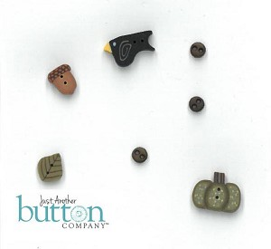 Autumn Notes Button Pack