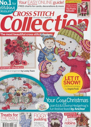 December 2014 Issue 243 - (Cross Stitch)
