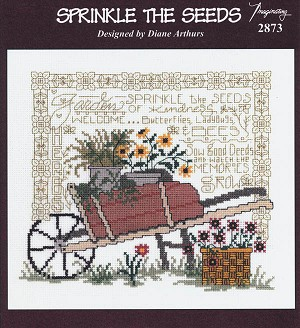 Sprinkle the Seeds - (Cross Stitch)