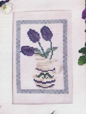 A Pitcher of Spring - (Cross Stitch)