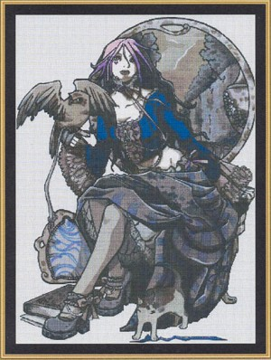 Czarina - (Cross Stitch)