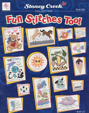 Fun Stitches Too! - (Cross Stitch)