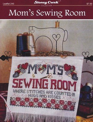 Mom's Sewing Room - (Cross Stitch)