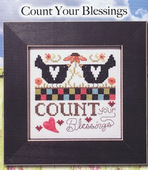 Simply Inspirational - Count Your Blessings - (Cross Stitch)